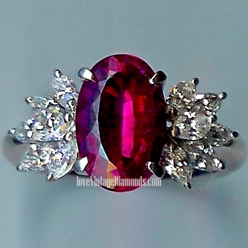 Spectacular Pink-Tourmaline & Diamond Ring