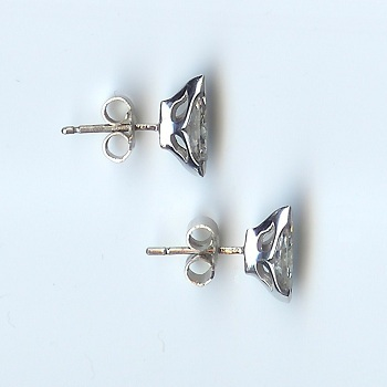 Stunning Marquise-Cut Diamond Stud Earrings, Approx 1.30cts