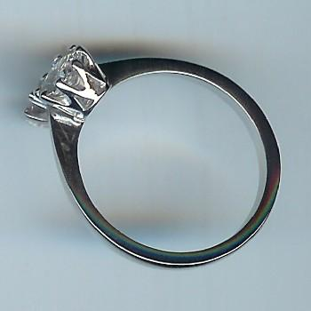 Amazing 2-Stone Diamond Ring, Total Approx 1.20cts