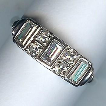 Stunning 7-Stone Diamond Band