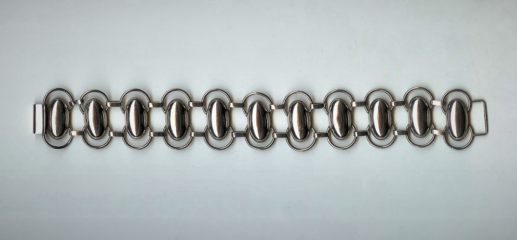 Unusual Stylish Silver Vintage Bracelet