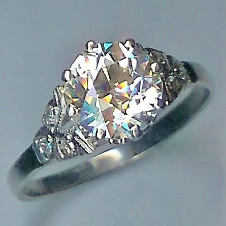 Exceptional 2.25cts Solitaire Diamond Ring