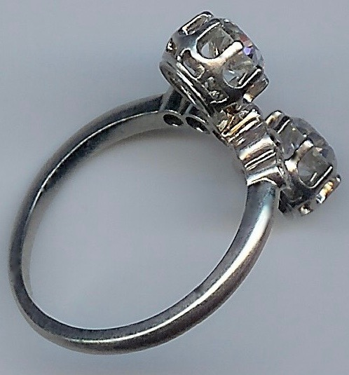 Beautiful Vintage Unusual Diamond Ring