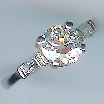 Fantastic Vintage Diamond Solitaire, Approx. 1.26cts