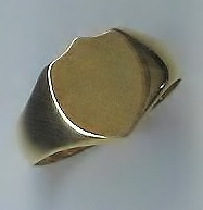 Shield Signet Ring, 18ct Yellow Gold, 1911