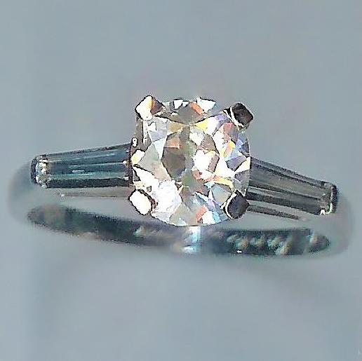 Magnificent 1.78ct Vintage Diamond Ring